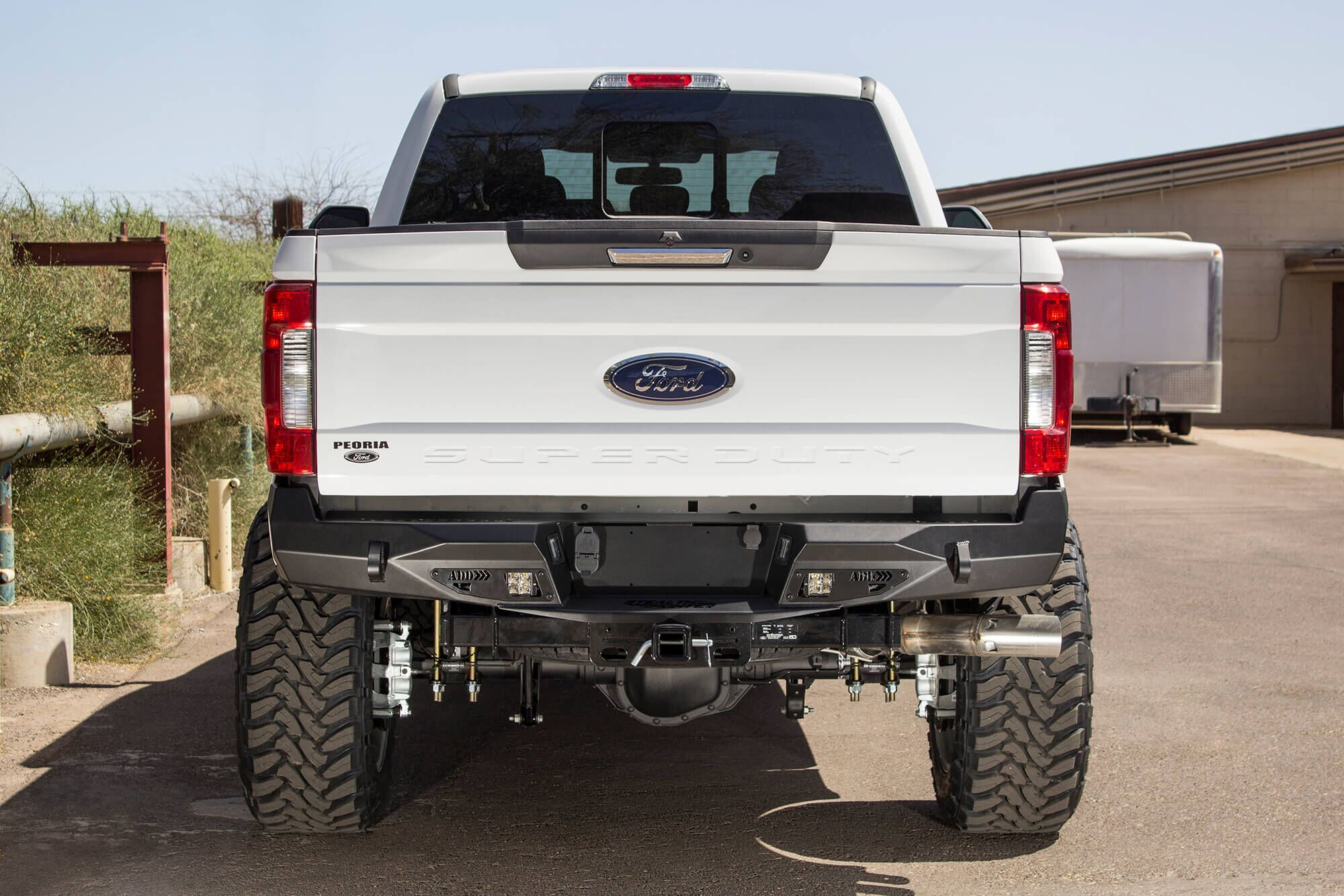 Look good from the back with our 2017 Ford Super Duty Rear
