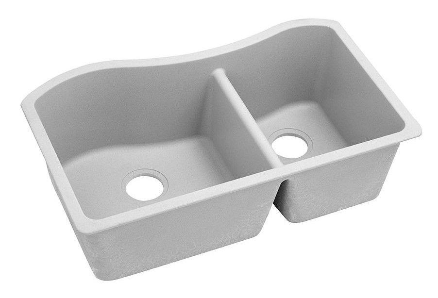 Quartz Classic 33 X 20 Double Basin Undermount Kitchen Sink Sink Undermount Sink Composite Kitchen Sinks