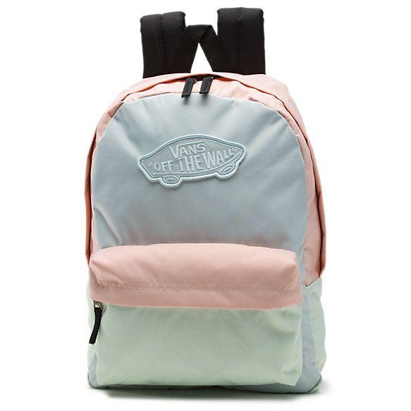 Vans pastel backpack  teenstyle  backpack  saltylashes  vans