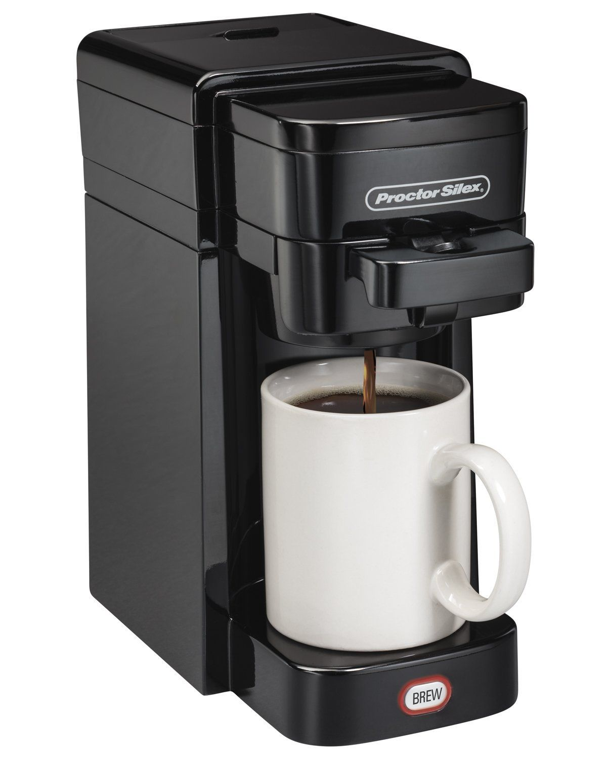 proctorsilex  flexbrew singleserve coffeemaker ground and k  - proctorsilex  flexbrew singleserve coffeemaker ground and kcupcompatible