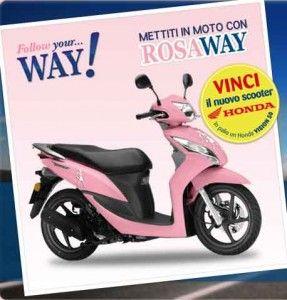 concorso mettiti in moto con roseway