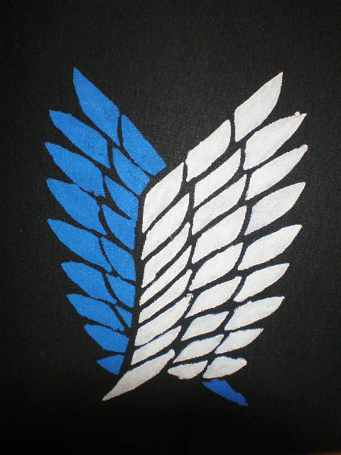 Aot Wings Of Freedom By Lucian Ciel On Deviantart Attack On Titan Cute Canvas Paintings Freedom Tattoos
