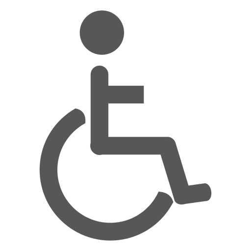 Ruedas Discapacidad Silla Signo Circular Retail Logos Pictogram Ceiling Design Living Room