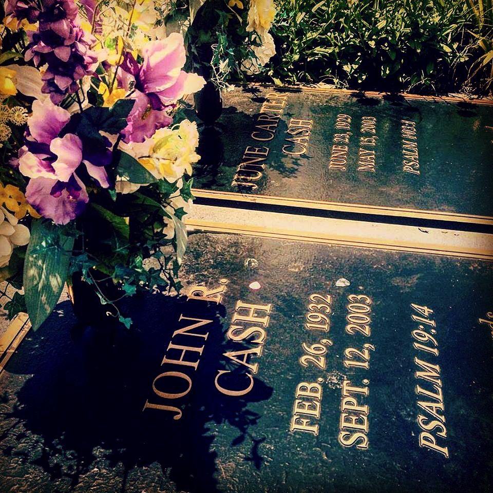 Final resting place of johnny cash june carter cash