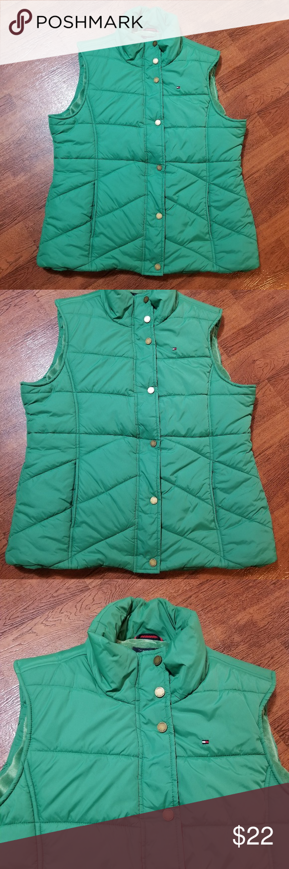 Tommy hilfiger womens size large vest (With images