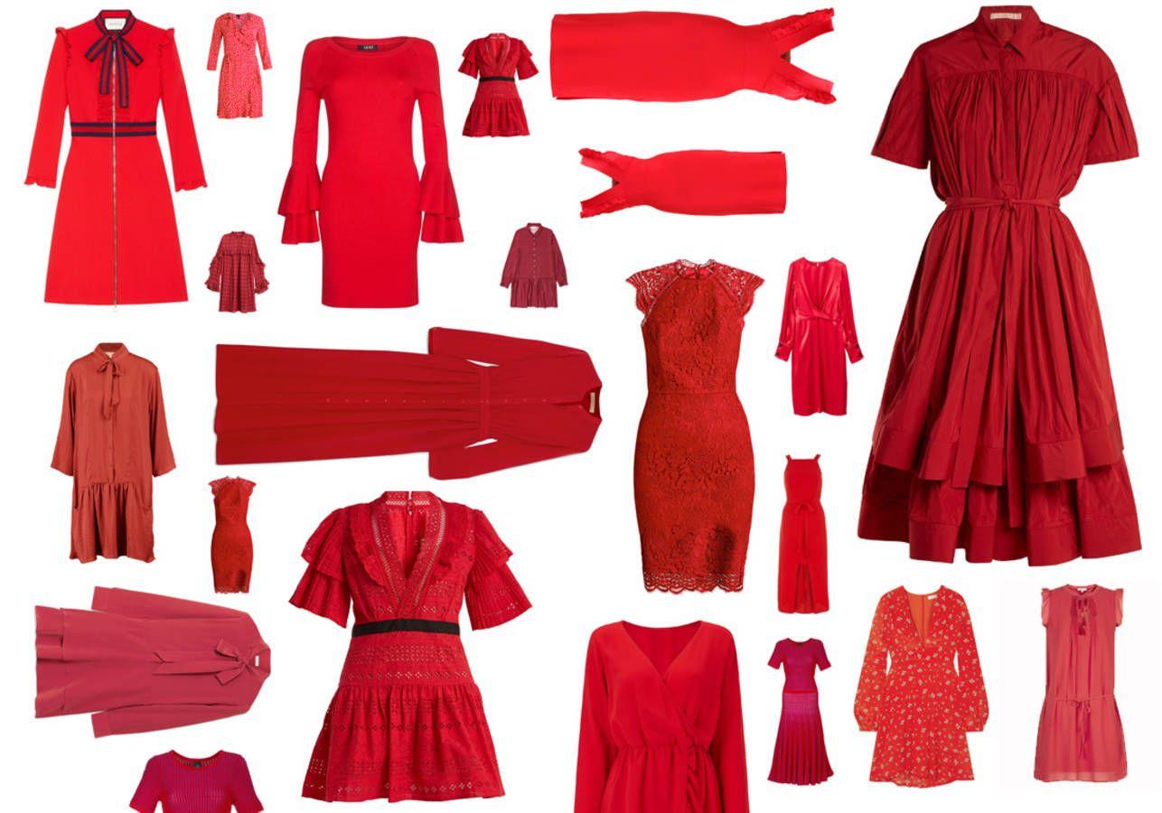 Robe Rouge : 30 Robes Rouges Pour Pimenter Vos Soirées