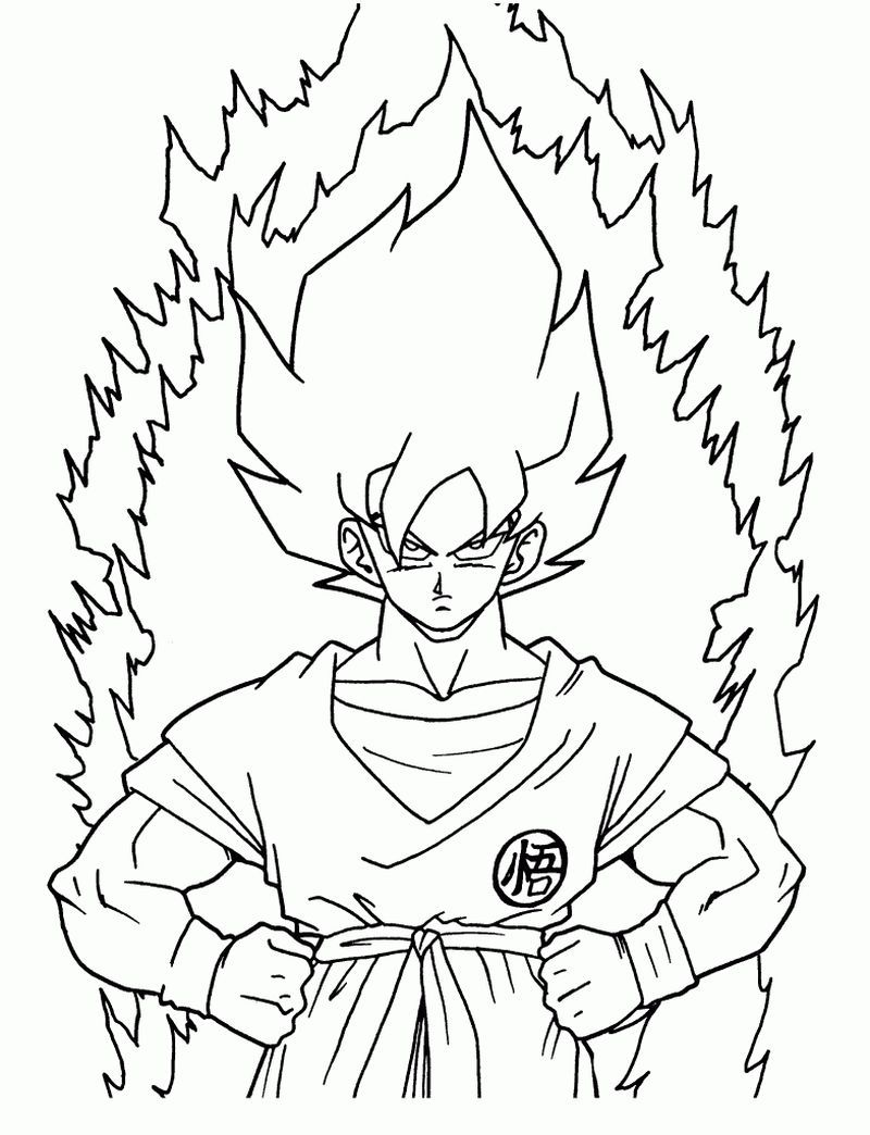 50 Dragon Ball Z Coloring Pages Cartoon Coloring Pages Dragon Coloring Page Coloring Pages