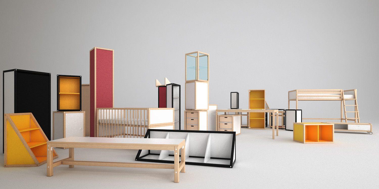 Flototto Catalogue Illustration Full Cgi Xoio Furniture Furniture Collection Home Decor