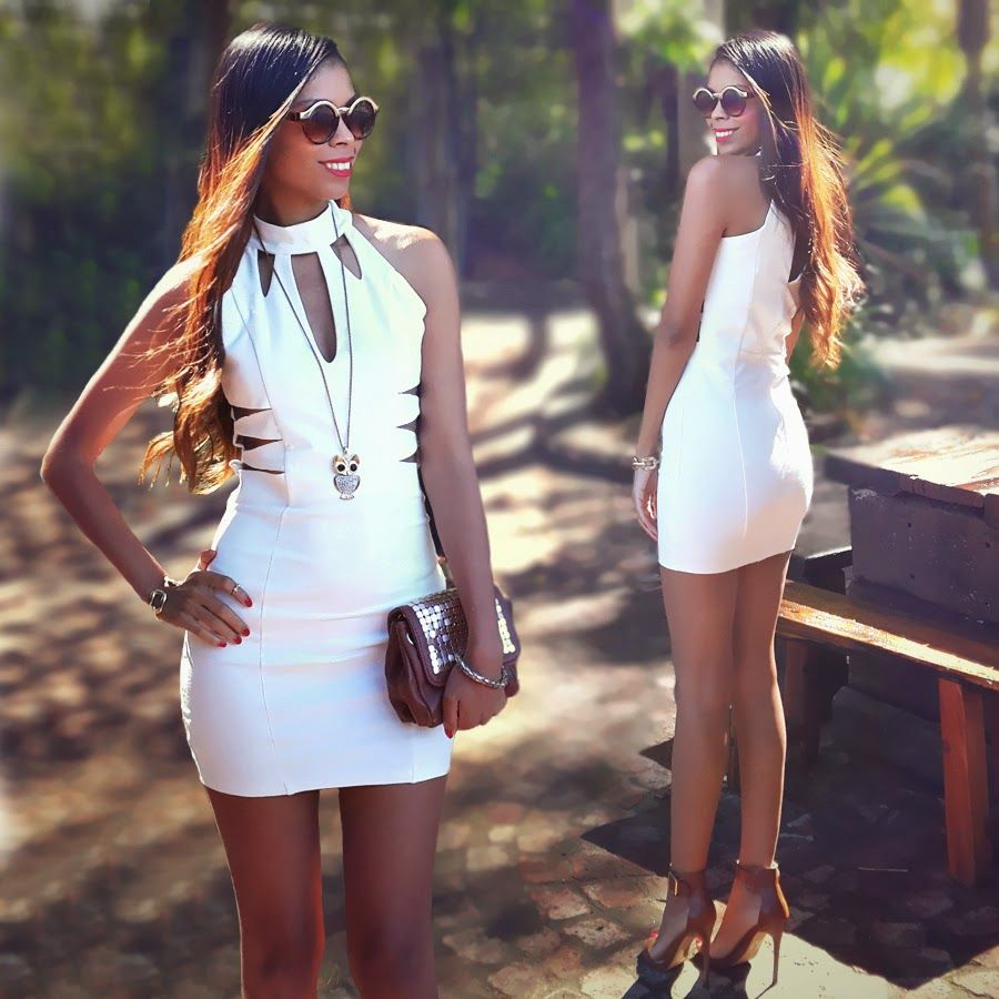 Fashion · Little White Dress meets Steve Madden ...