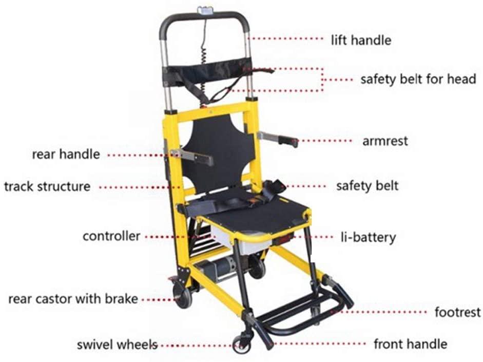 Amazon Com Funwill Electric Elderly Stair Lift Chair Motorized Climbing Wheelchair Stair Assist Chair For Elderly Health In 2020 Lift Chairs Stair Lift Wheelchair