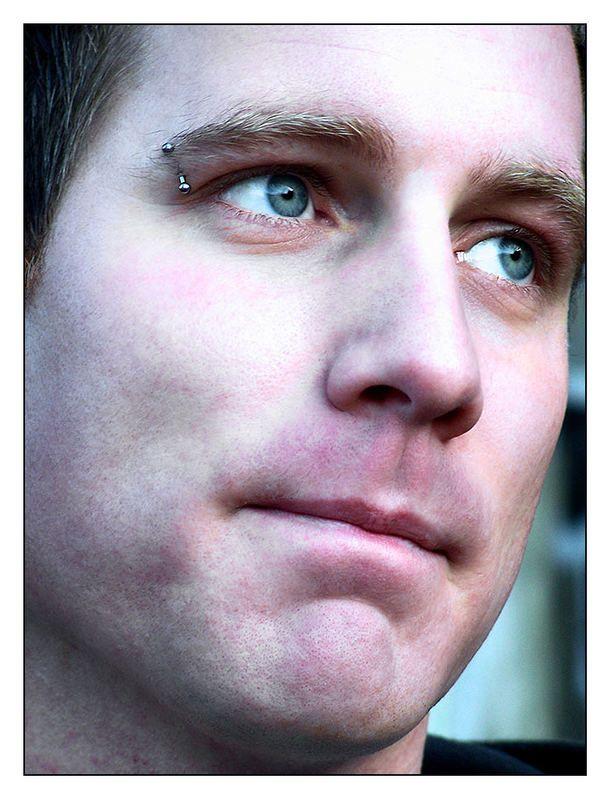 #blastfromthepast #Behind Blue Eyes - Bild & Foto von Oliver Kühne aus #Portrait - Fotografie (4893631) | fotocommunity #male #blue #eyes