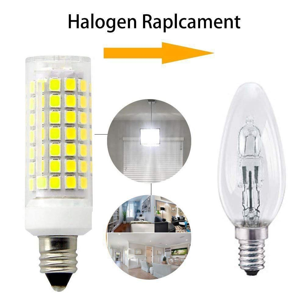 E11 Led Light Bulb Dimmable70w Or 100w Halogen Bulbs Equivalent