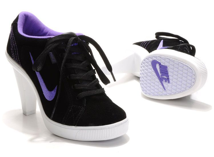 Now Buy Nike 2012 Heels Dunk Low Womens Shoes New Black Purple Save Up From  Outlet Store at Lebronshoes.