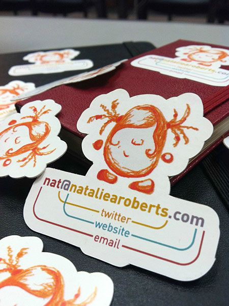 funny cool business card twitter email website amazing pinterest