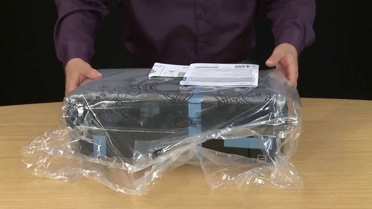 Unboxing and Setting Up the HP Envy 4500 e-All-in-One