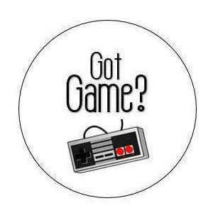 Got Game? Pinback Button NES controller Vintage Video Game | Video Gamer Pin by HashtagPinning on Etsy