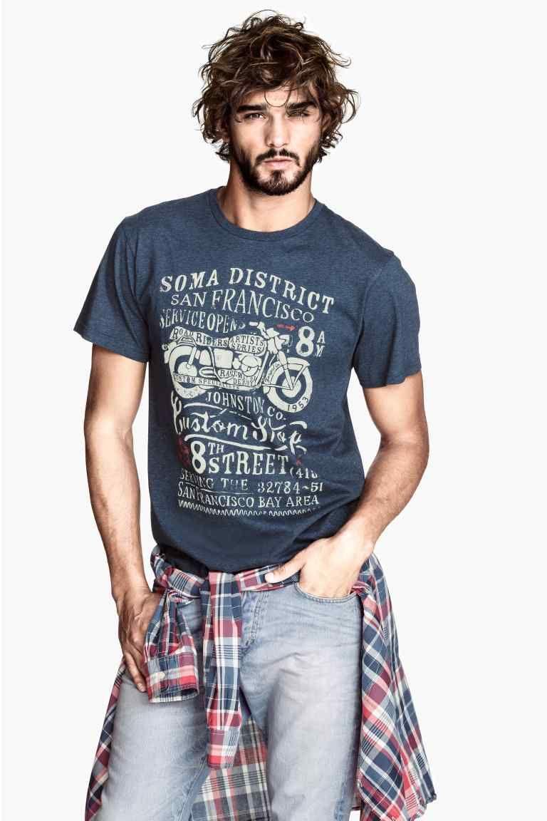 T-shirt avec impression | H&M