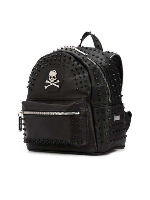 b15416b401ff Shop Philipp Plein  Sovereign  backpack in David Lawrence from the world s  best independent boutiques at farfetch.com. Shop 400 boutiques at one  address.
