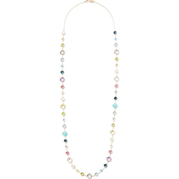 Ippolita Rock Candy Lollitini 18-karat Gold Multi-stone Necklace urVNEI