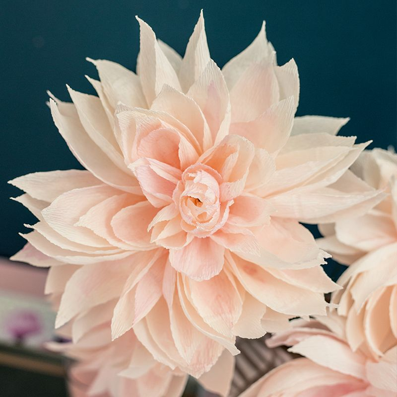 The dahlia paper flower guide paper flowers pinterest dahlia the dahlia paper flower guide mightylinksfo