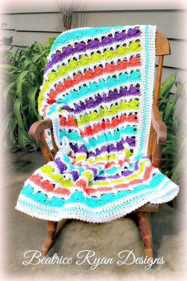 Summer Day\'s Baby Blanket