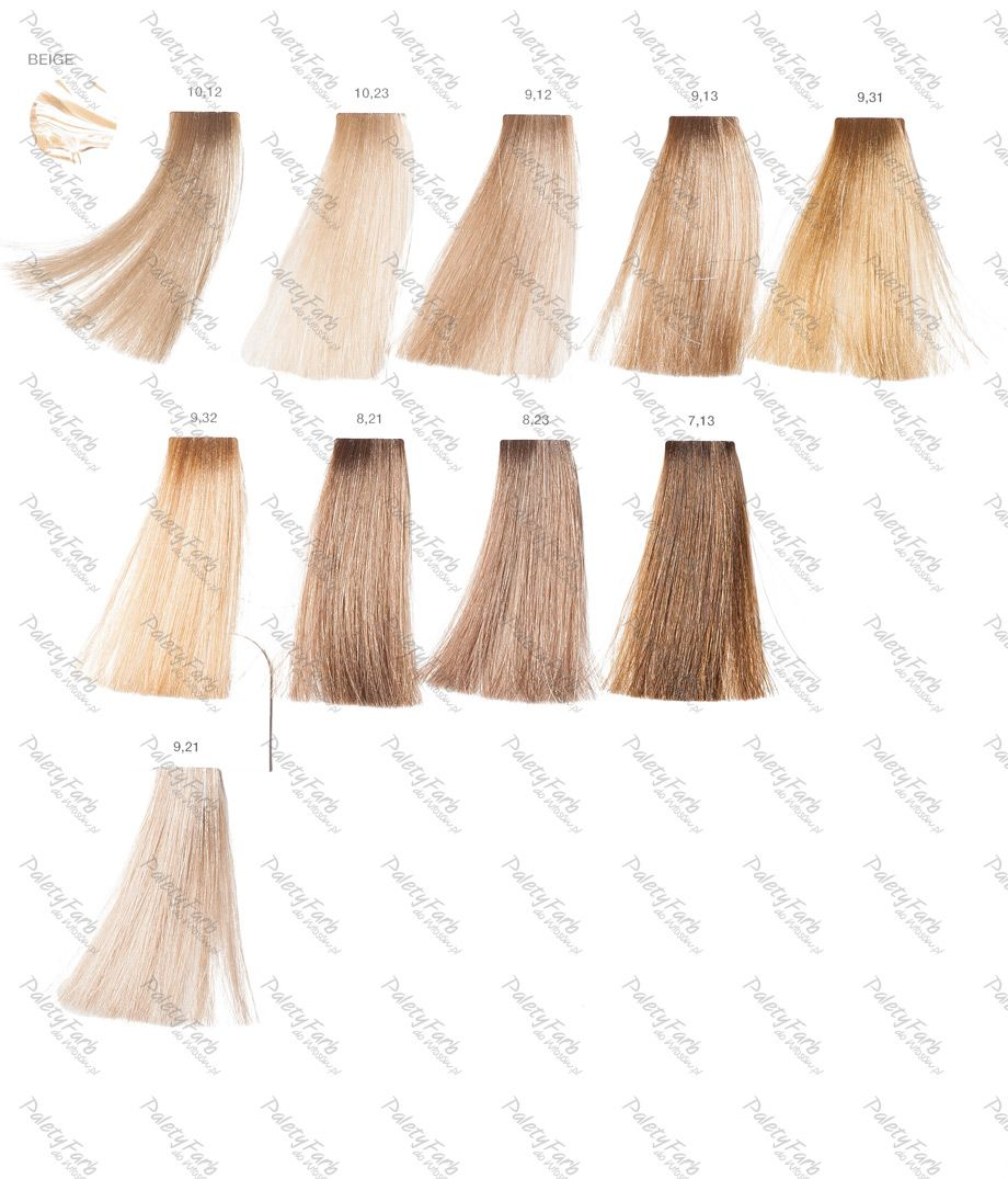 Dunkelblond Farbpalette Loreal Luo Color Paleta 1 Hair