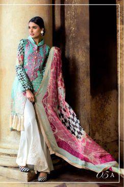 Zainab Chottani Luxury Lawn Collection 2017-18   PK Vogue
