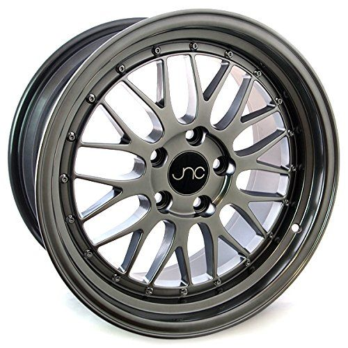 JNC005, 17x8.5, 5x120, Hyper Black / Fully Painted, et30 *FREE SHIPPING