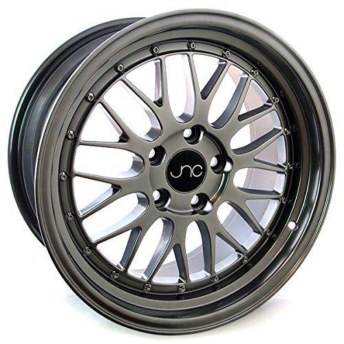 JNC005, 17x8.5, 5x120, Hyper Black / Fully Painted, et30 *FREE SHIPPING