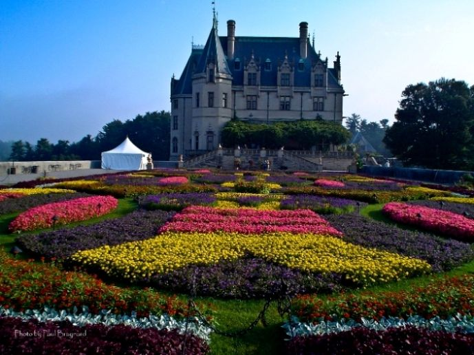 Biltmore House And Gardens North Carolina