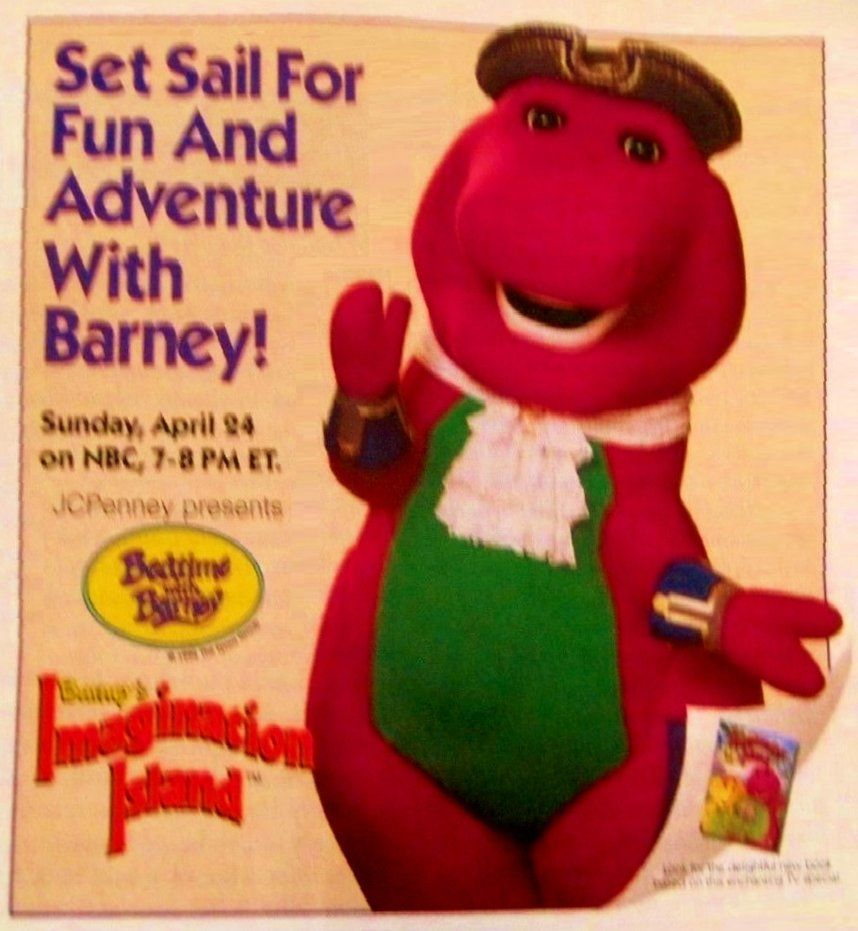 Barney's Imagination Island TV Special Promo Ad by ...