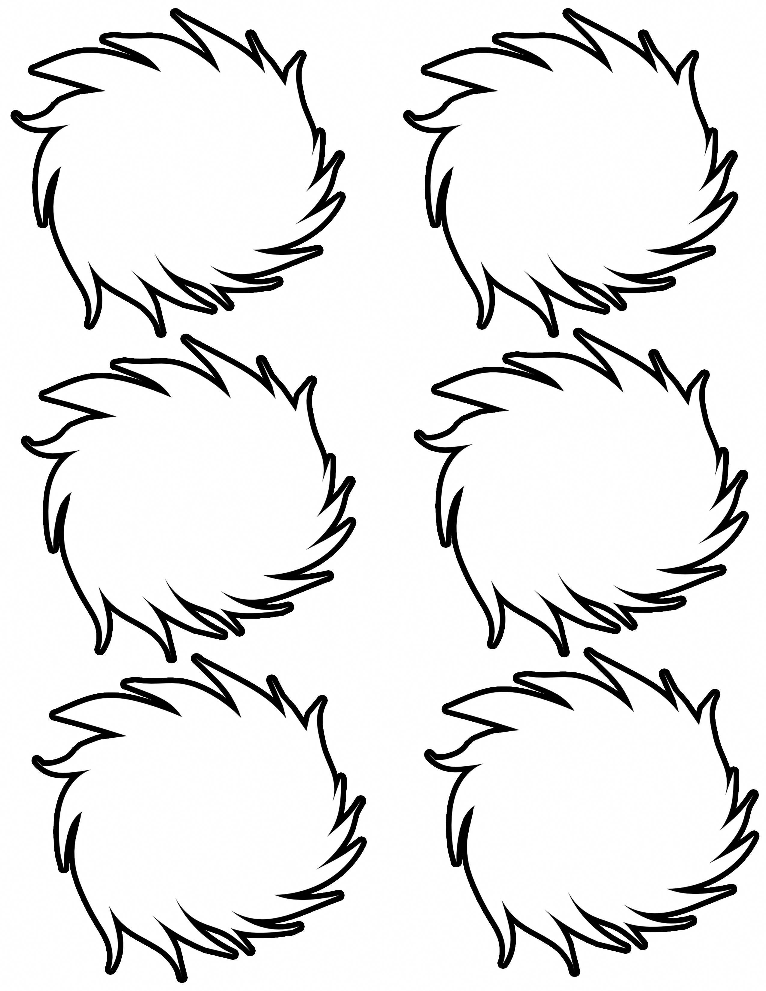 Dr Seuss Coloring Pages Lorax
