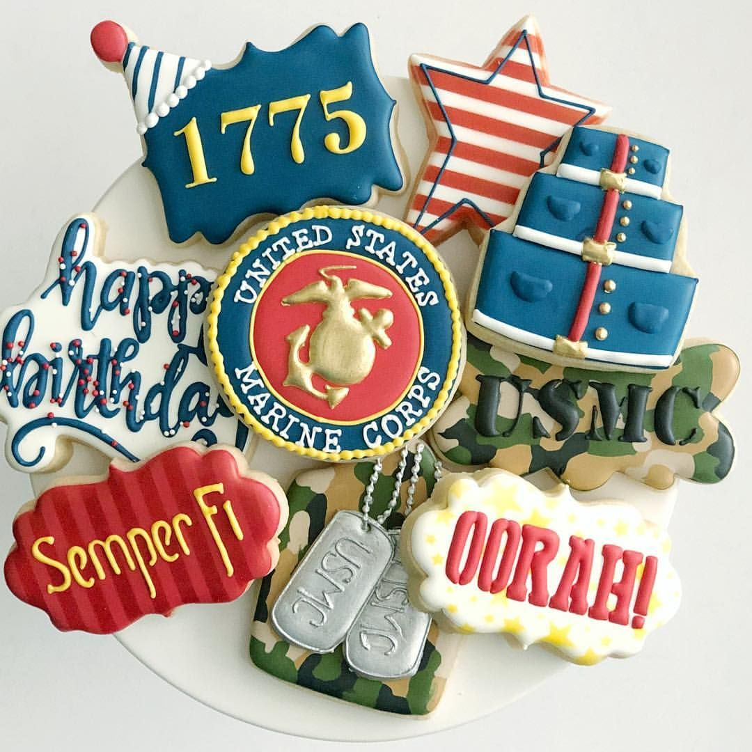 Happy Birthday U.S. Marine Corps🎉 ️🇺🇸💙 design inspo