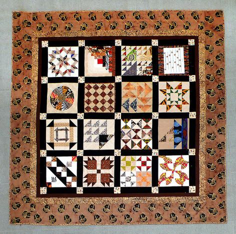 The Quilting Sisters of Color  focus is to preserve and promote an appreciation of quilting as an art form, particularly from the African-American tradition. The exhibit consists of quilts of various sizes, art forms, machine and hand quilted.
