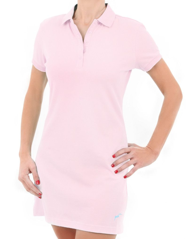 Women's Basic S/S Polo Dress