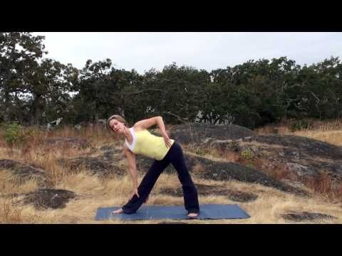 twist and stretch yoga workout with melissa mcleod  yoga