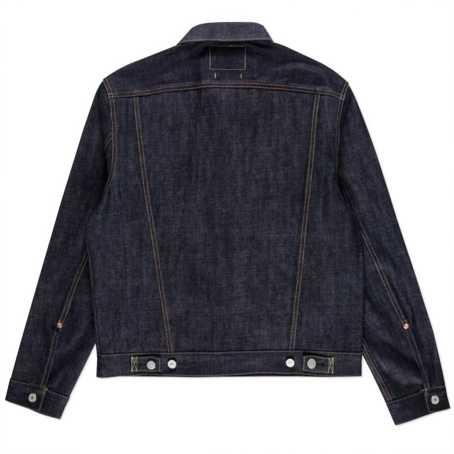 Men s regular-fit denim jacket, crafted in Osaka from 13.7oz Japanese  unwashed selvedge denim by FULLCOUNT for Paul Smith. 78db5075fd8