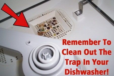 How To Fix A Dishwasher Leaving Food Particles On Dishes Dishwasher Smell Clean Dishwasher Cleaning Hacks