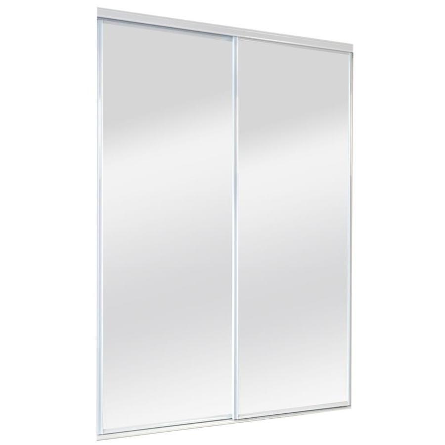ReliaBilt Mirror Sliding Closet Interior Door (Common 60-in x 80-in  sc 1 st  Pinterest & ReliaBilt Mirror Sliding Closet Interior Door (Common: 60-in x 80-in ...