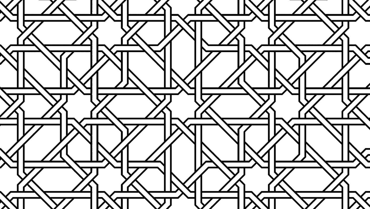 Geometric Coloring Patterns
