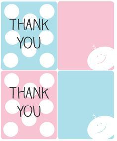 Baby shower thank you gifts with free printable gift ideas free baby shower thank you gifts with free printable gift ideas negle Image collections