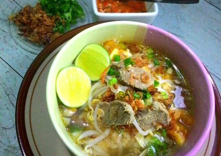 Resep Soto Daging Sapi Bening Solo Oleh Ayu Wulansari Resep Resep Makanan Dan Minuman Daging Sapi