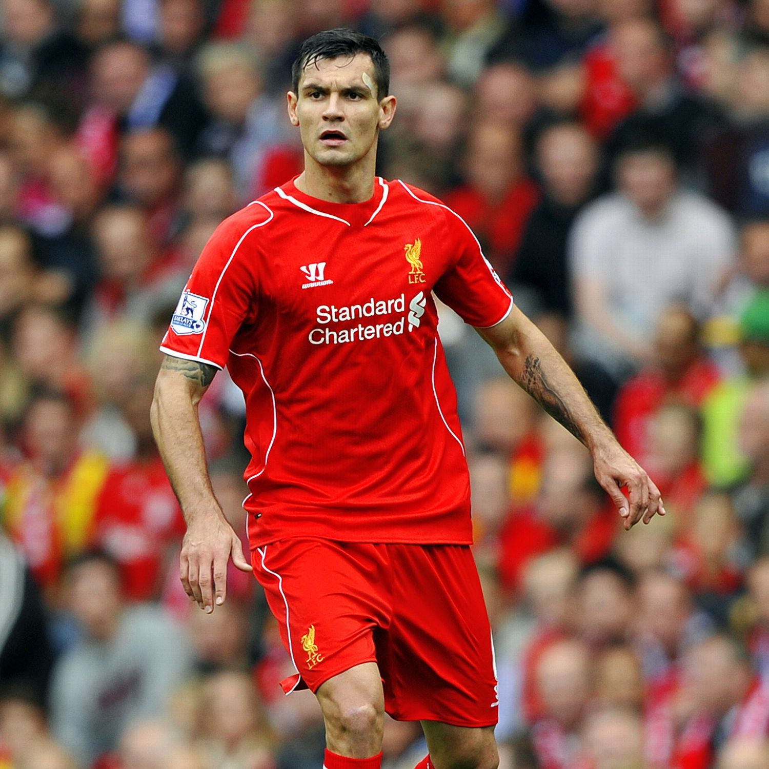 newest d039f c8173 Dejan Lovren happy to give LeBron James the Liverpool No. 6 ...
