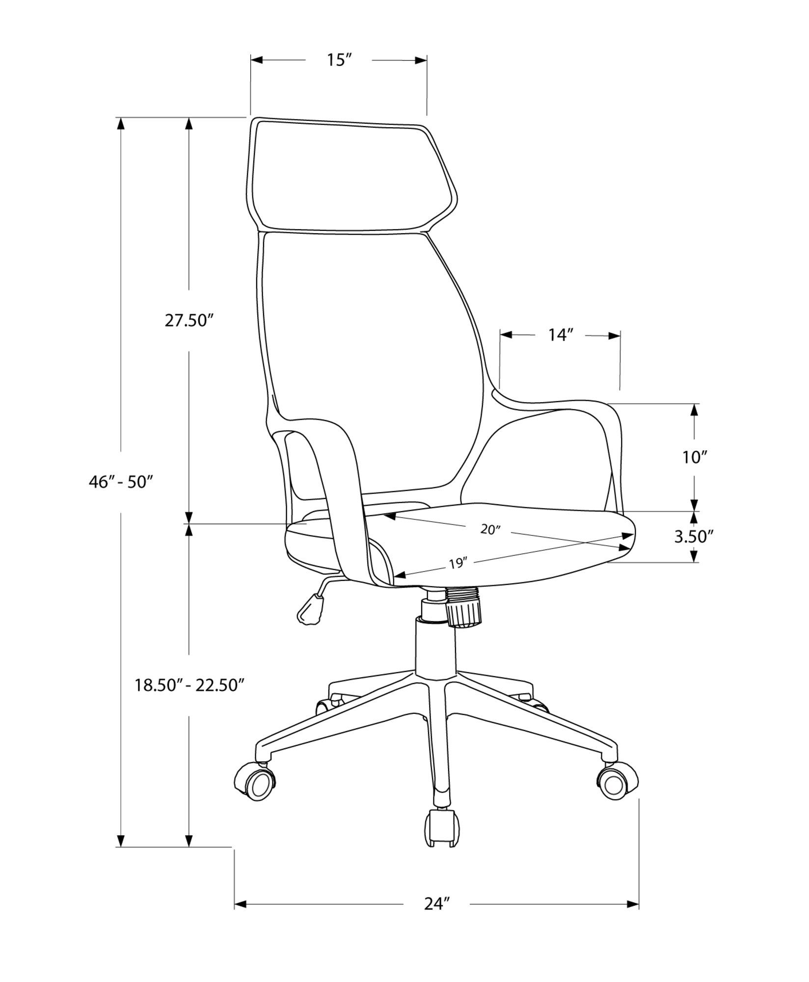 Black Microfiber Computer Chair In 2020 Executive Office Chairs Office Chair Store Design Interior