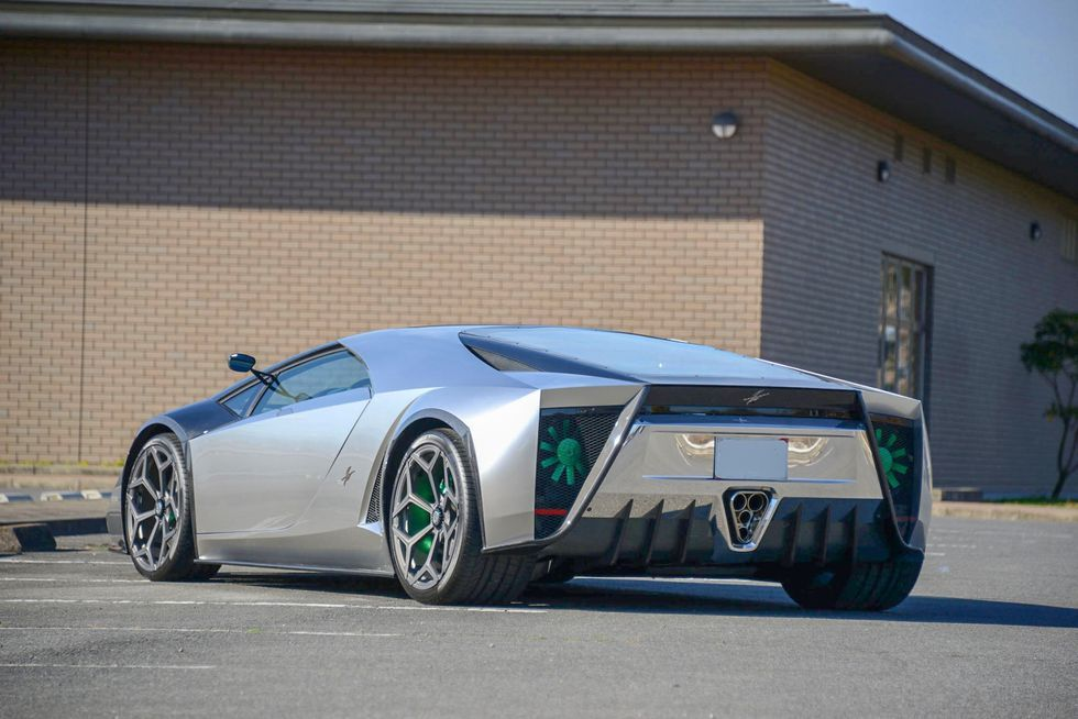 Oh Look That Super Cool Lamborghini Based Kode 0 Supercar Is For
