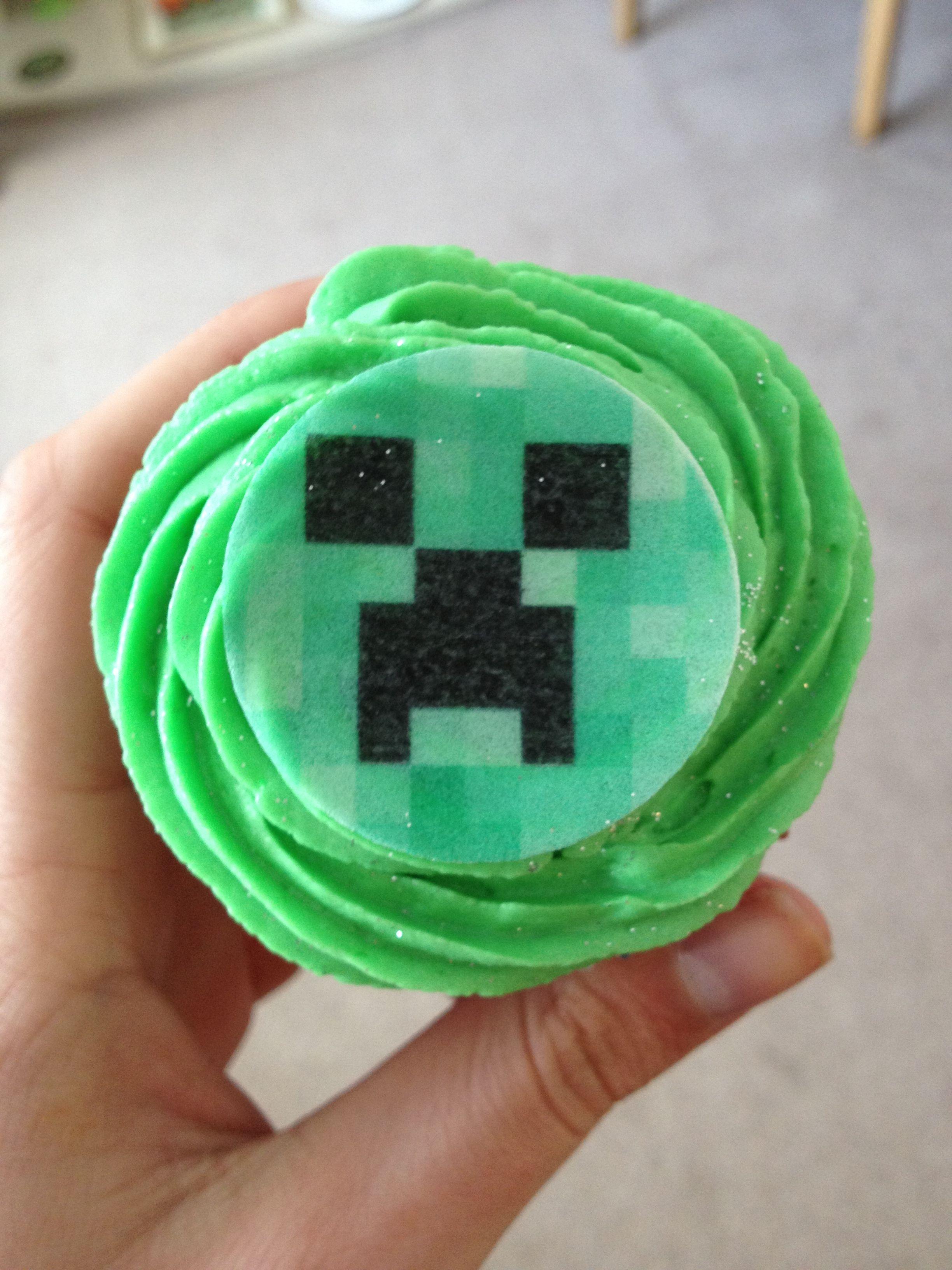 MINECRAFT CUPCAKE CREEPERS EVERYWHERE WATATTA Minecraft