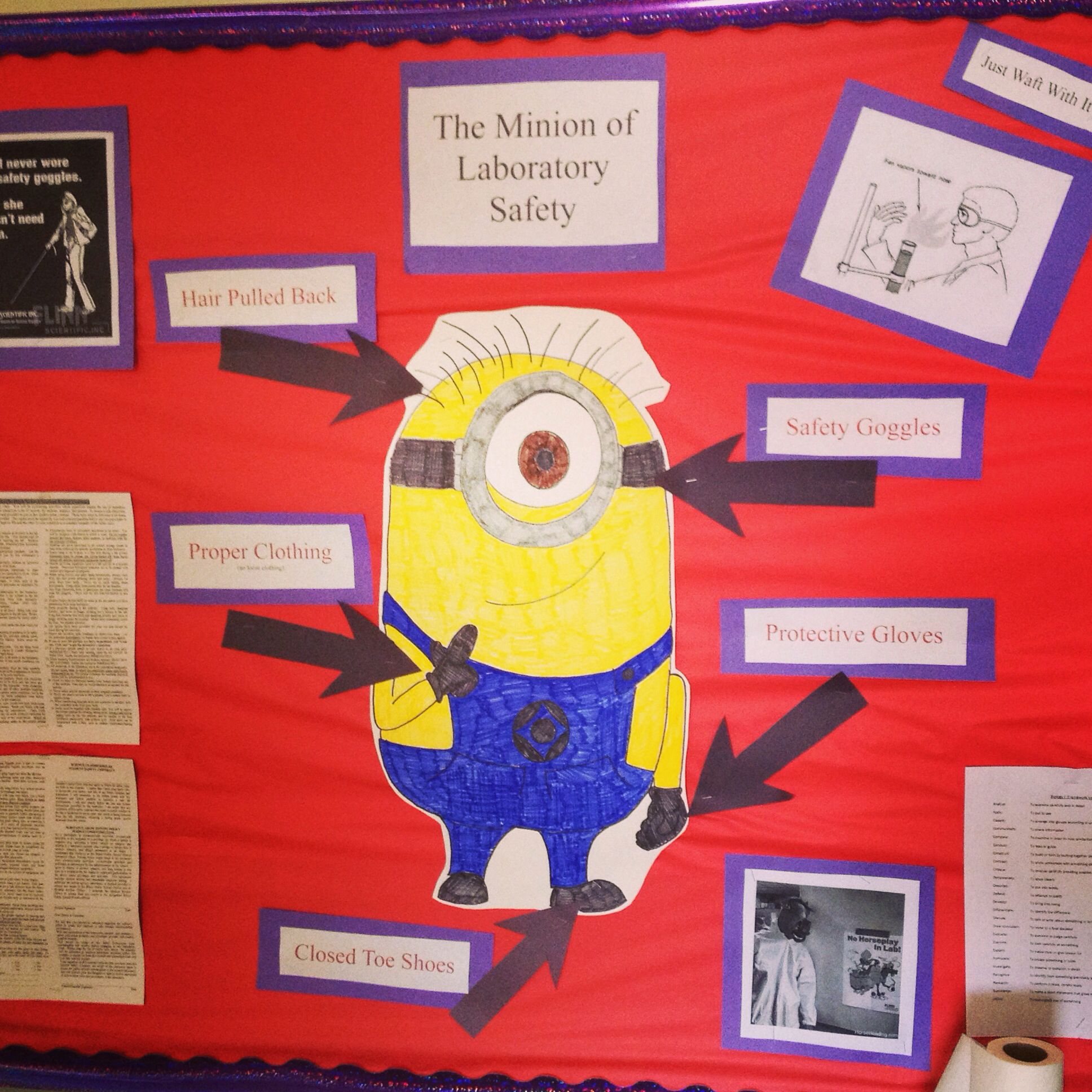 Lab Safety Using Minions