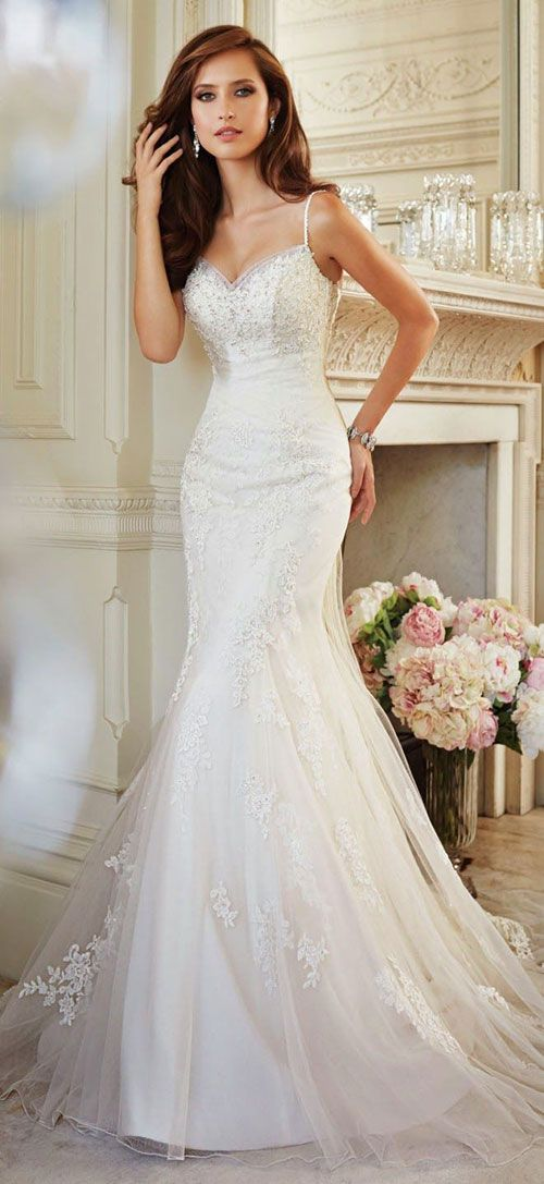 Perfect Wedding Dress For An Hourglass Body Type Bridal Dresses Wedding Dresses 2014 Wedding Dresses