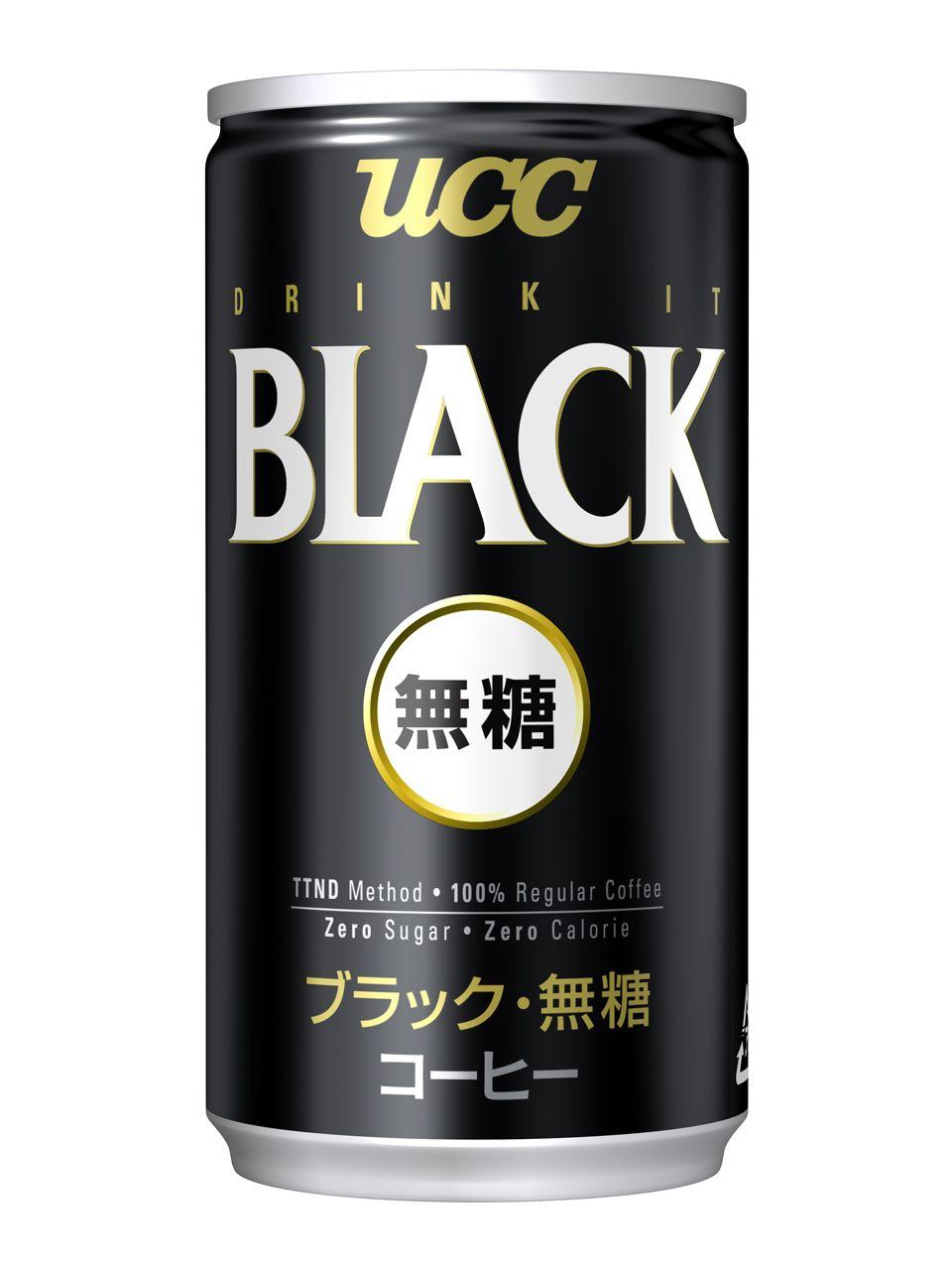 Ucc Black Zero Sugar 185g Japanese Drinks Coffee Milk Coffee