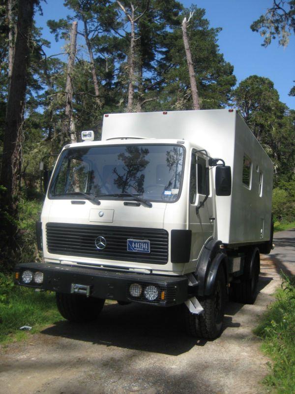 1988 Mercedes 1017a Based Custom 4 4 Camper 4x4 Campers